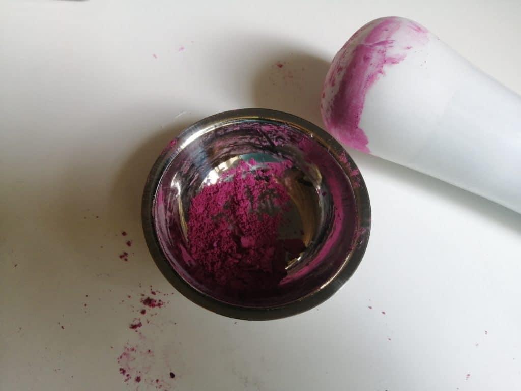 Réaliser son baume à lèvres à la cerise étape 1