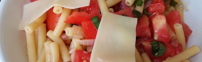 Recette des pâtes aux tomates fraîches