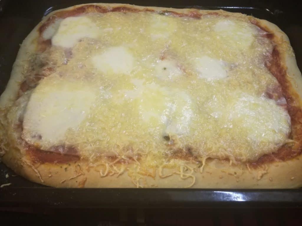 Recette de la pizza fait maison étape 7