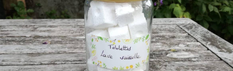 Faire ses propres tablettes de lave-vaisselle