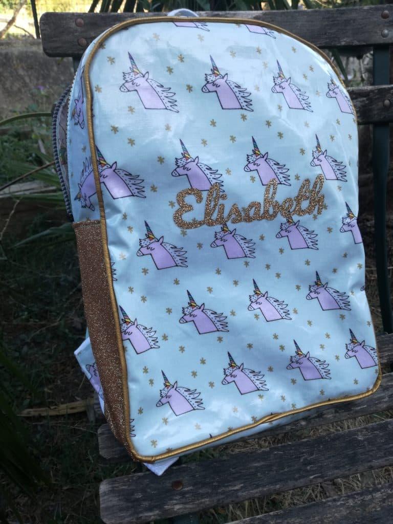 Tuto sac à dos pour la maternelle