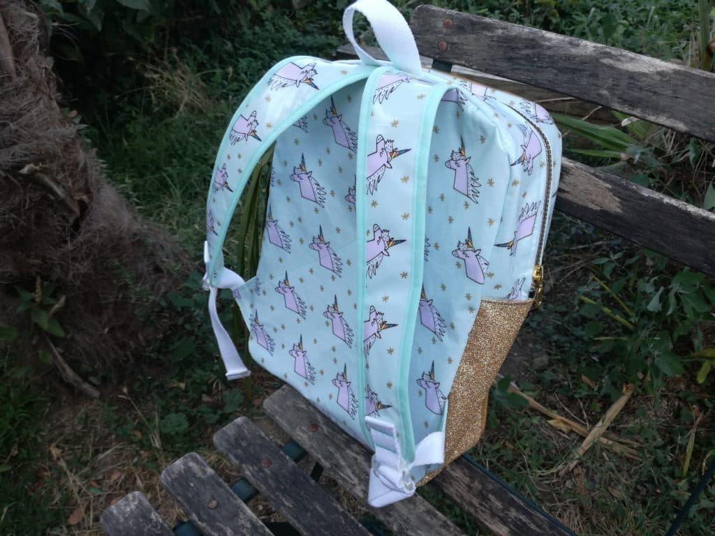 Tuto sac à dos pour la maternelle dos