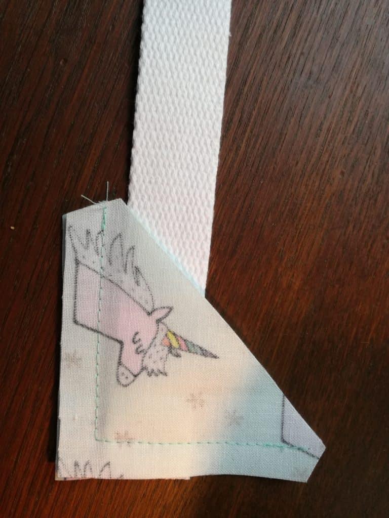 Tuto sac à dos pour la maternelle étape 9