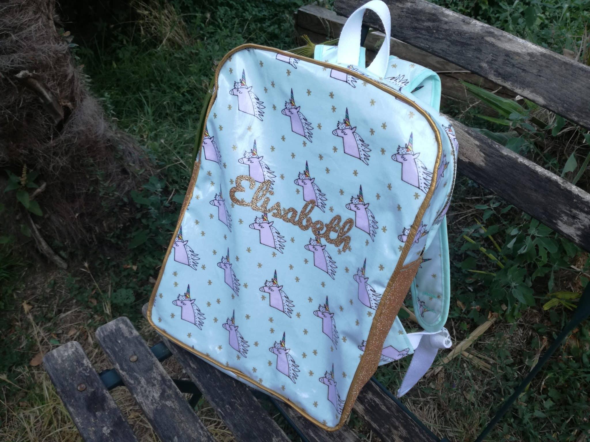 Tuto sac à dos pour la maternelle personnalisé