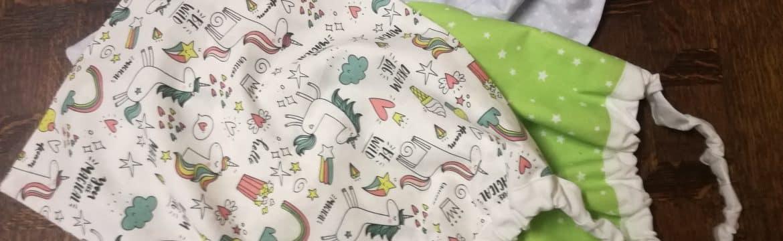 Tuto pour faire une serviette avec élastique pour la maternelle