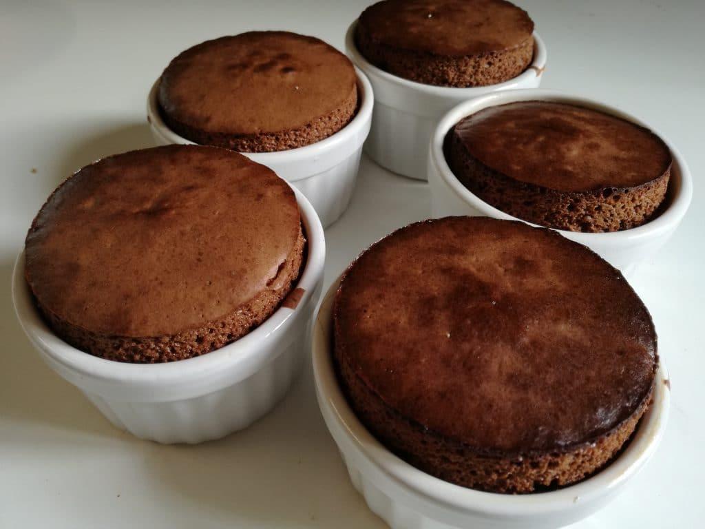 Recette du mi-cuit au chocolat : cuisson