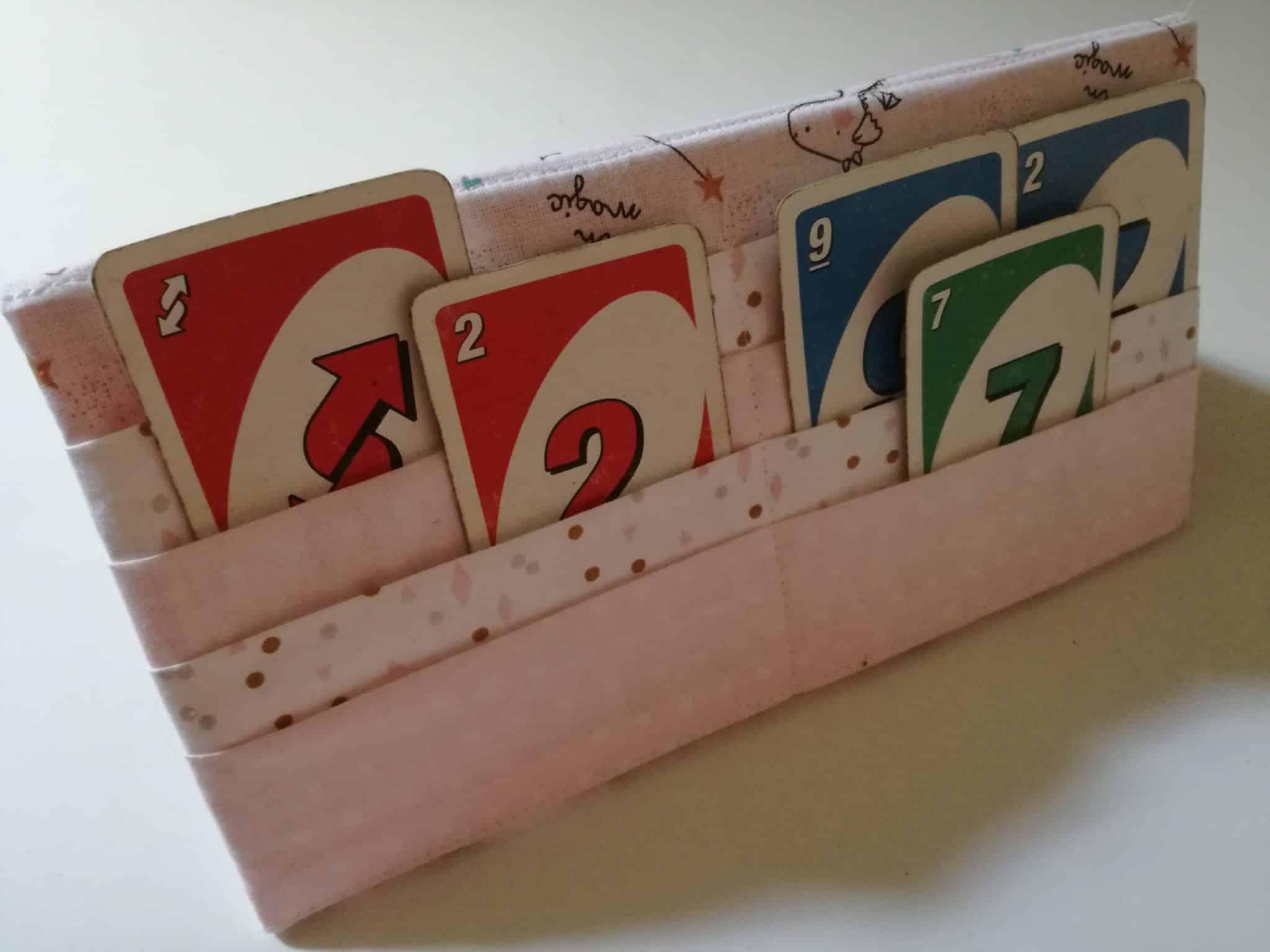 tuto d'un support pour cartes à jouer